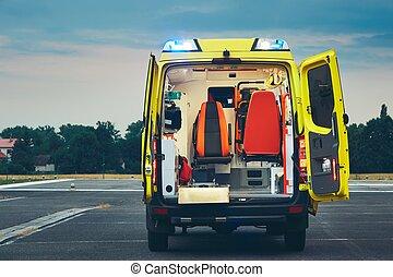 緊急事件, 醫學服務