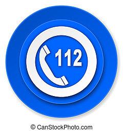 緊急事件, 電話, 圖象, 112, 電話, 簽署