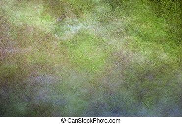 緑がかった, 支配的, 背景