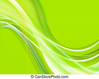 緑がかった, 装飾用である, 背景