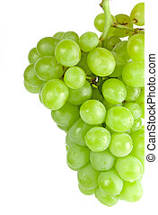 緑のブドウ, クローズアップ