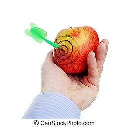 緑のリンゴ, さっと動きなさい