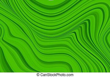 緑の大理石, 背景