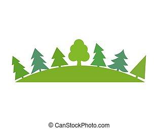 緑の森林, symbo