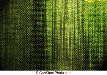緑の概要, グランジ, 背景