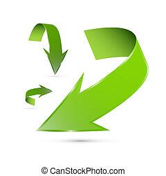 緑の概要, セット, 矢