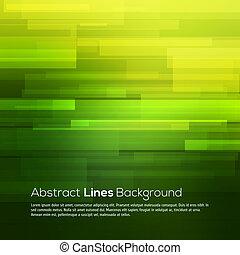 緑の概要, ベクトル, ライン, 背景