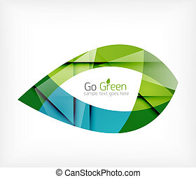 緑の概要, 概念, 葉