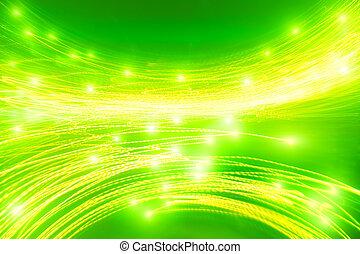 緑の概要, 飽和させられた, 背景