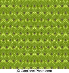 緑の概要, pattern., 葉, seamless