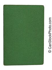 緑の白, ペーパー, カバー, 背景