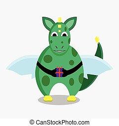 緑の竜, ∥で∥, a, 贈り物