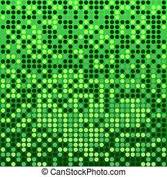 緑の背景, ディスコ