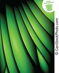 緑の葉, 背景