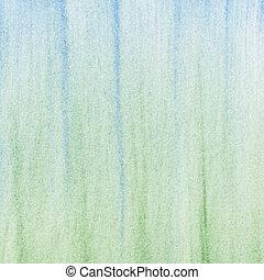 緑の青, パステル, 抽象的, 背景