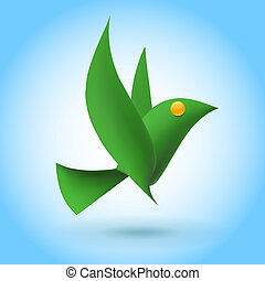 緑の鳥, エコロジー, 要素