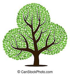 緑は 去る, ベクトル, 木