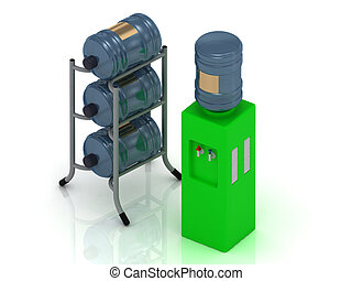 緑水, 冷却器