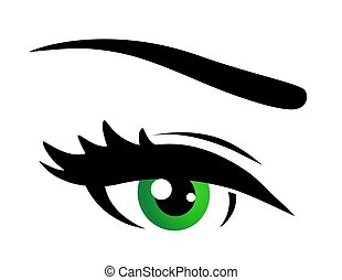 緑目, アイコン