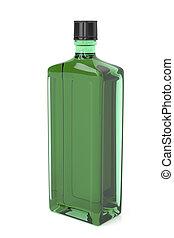 緑, アルコール, びん