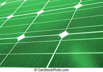 緑, エネルギー, 緑, 太陽 パネル