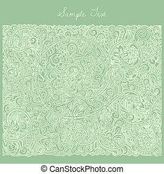 緑, カード, テンプレート