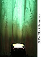 緑, スポットライト