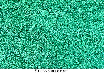 緑, タオル