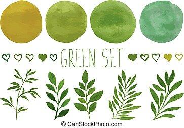 緑, デザインを設定しなさい