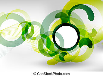緑, デザイン, 未来派