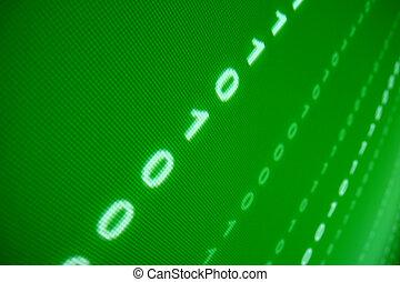 緑, データ, スペース