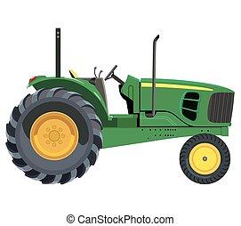 緑, トラクター