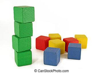 緑, ブロック