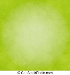 緑, ベクトル, 自然, 背景
