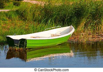 緑, ボート