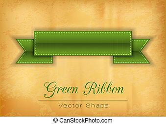緑, リボン