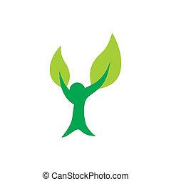 緑, 平和, 木