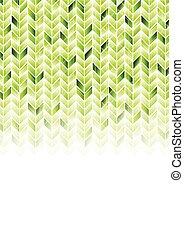 緑, 幾何学的, 光沢がある, hi-tech, 背景