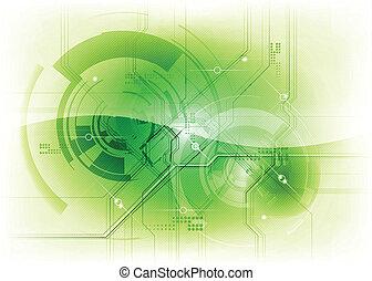 緑, 技術