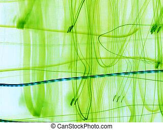 緑, 抽象概念