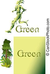 緑, 操業