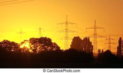 緑, 日没, エネルギー