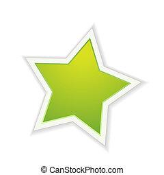 緑, 星, グロッシー