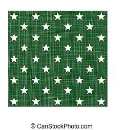緑, 星, パターン
