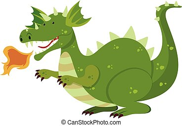 緑, 特徴, ドラゴン