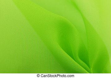 緑, 生地, 手ざわり