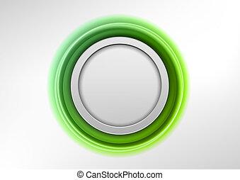 緑, 紋章