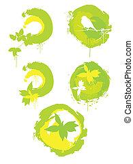 緑, 背景, enviroment
