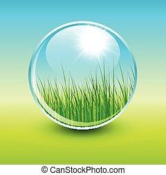 緑, 自然, 背景