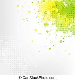 緑, eco, 背景